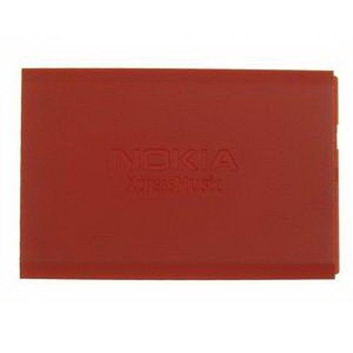 Nokia 5700 Akkufachdeckel Rot