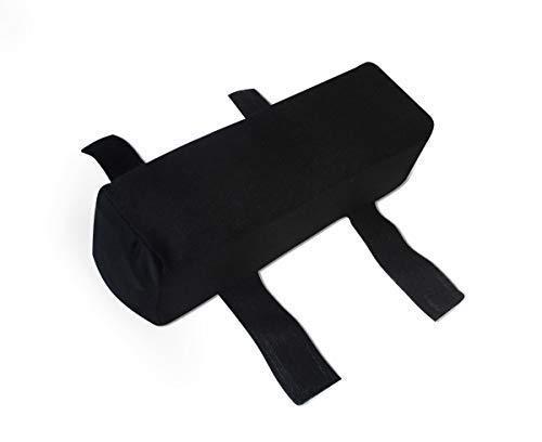 Gel / Gelschaum Armauflage für Armlehne Armkissen Armstütze Stützkissen 25 x 7 x 7 cm Memory Schaum Erhöhung für Bürostuhl Bürosessel Chefsessel Schreibtisch PC Handauflage Handablage Polster für Arm Sitzkissen