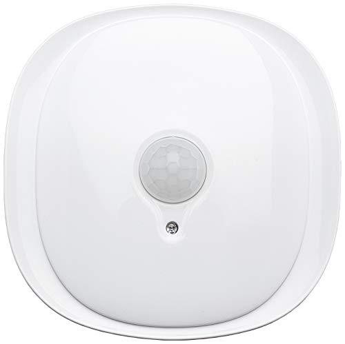 Tibelec 622130 nachtlampje met schemerschakelaar, automatische inschakeling, met bewegingsmelder, wit