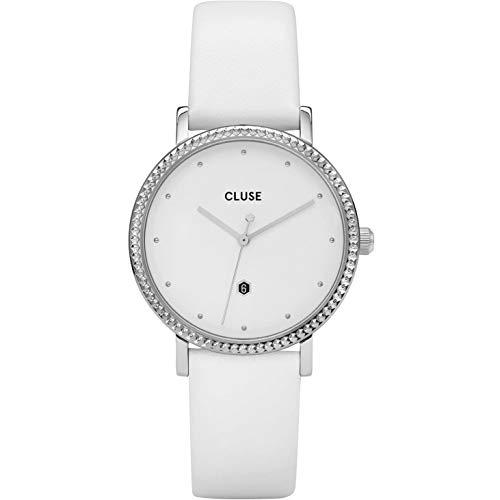 Cluse Reloj analógico para Mujeres de Cuarzo con Correa en Piel CL63003