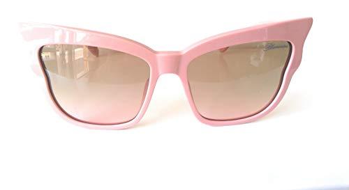 Blumarine Gafas de sol SBM749 por Giulia De Lellis 09FF de color rosa talla 58 mm de gafas de sol de las mujeres
