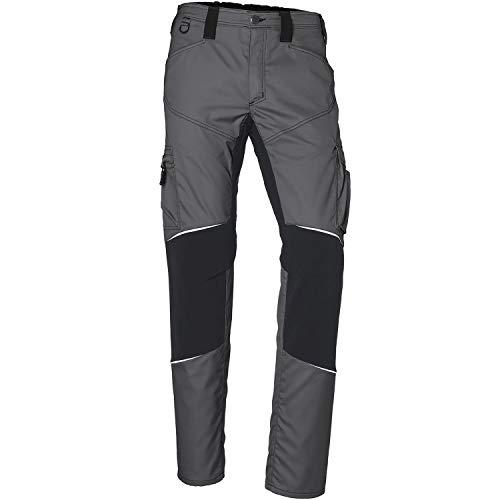 KÜBLER Workwear KÜBLER ACTIVIQ Stretch-Arbeitshose anthrazit, Größe 48, Herren-Stretch-Arbeitshose aus Mischgewebe, elastische Stretch-Arbeitshose