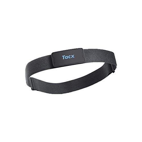 Tacx Ant+ Fascia Cardio e Bluetooth Smart, Nero
