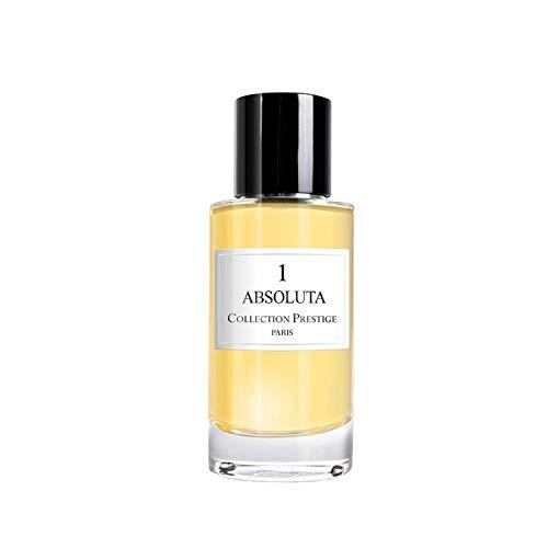 N°1 Absoluta | Bois - Collection Prestige edition Privée Rose Paris - Eau de Parfum Haut de Gamme - Made in France + Pochon Rose Paris