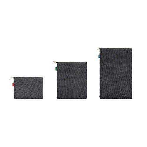 styleinside - Sacchetti riutilizzabili in rete per produrre borse con coulisse per la spesa, 3 pezzi