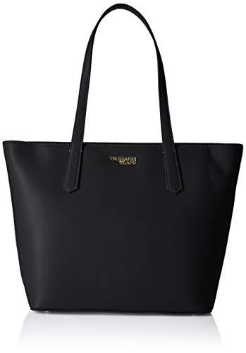 Trussardi Jeans Miss Carry Tote MD Saffiano EC, Borsa Donna, Nero...