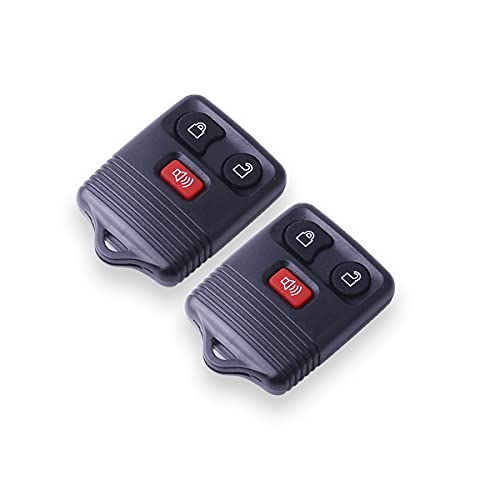 CENTAURUS Car Key Fob (Set of 2) Keyless Entry Remote 3 Button Replacement for...