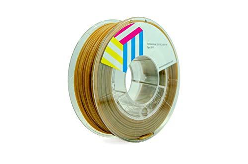 Eolas Prints | Filamento stampa 3D 100% PLA legno | Stampante 3D | Made in Spagna | Adatto per l'uso con alimenti e creare giocattoli | 2,85 mm | 1 kg