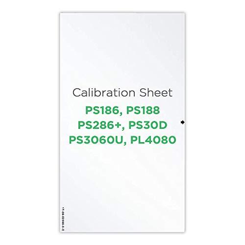Plustek Kalibrierungssteuerblatt – nur für PS286 Plus, PS186, PS188, PS30D, PS3060U, PL4080 Dokumentenscanner