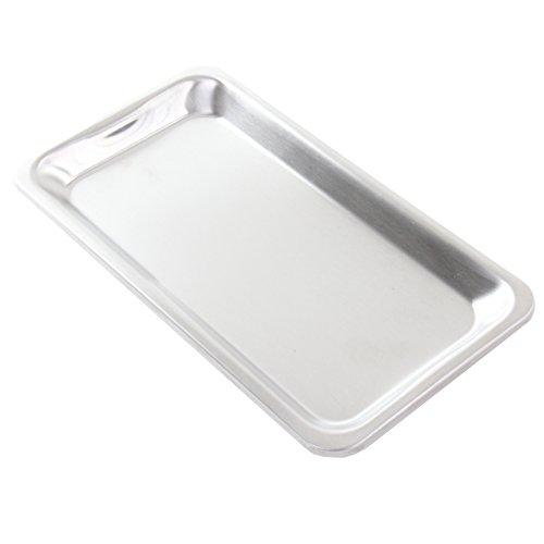 intergrill 800° Grill Gastroschale 29 x 15,8 x 1,8 cm Pure Standard Light Elektrogrill XXL Grillschale Auffangschale Fettschale Behälter Restaurant (Standard)