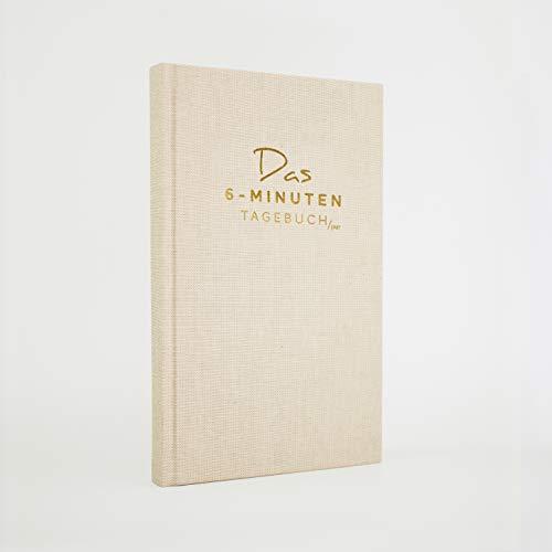 Das 6-Minuten-Tagebuch PUR (die Nachfolgeversion) | Erfolgs-Journal, Dankbarkeits-Journal | Mix aus Notizbuch und Tagebuch | Täglich 6 Minuten für mehr Erfolg, Gelassenheit und Achtsamkeit (natur)
