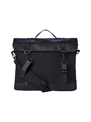 JACK & JONES Damen JACJONAS Briefcase Tasche, Black, ONE Size