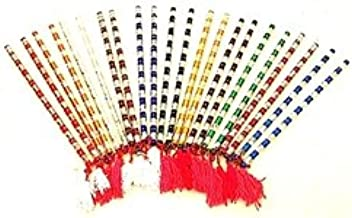 Dandiya Alluminium Sticks Set of 25 Pairs (50 pcs)
