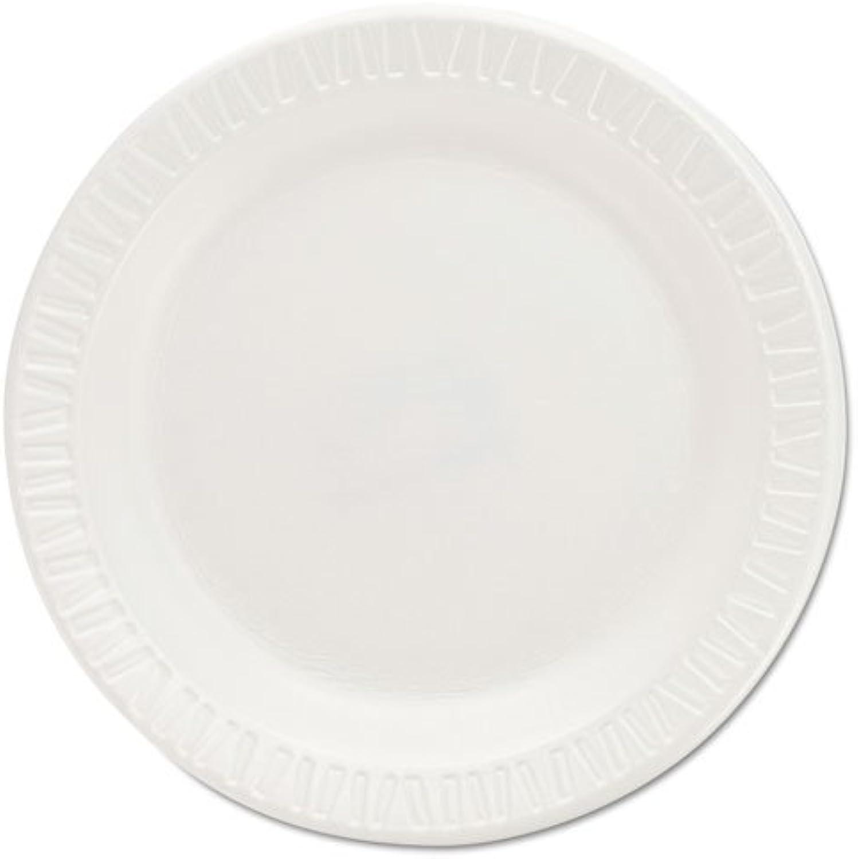 Dart Schaumstoff Kunststoff Teller, 15,2cm, wei, rund, 125 Pack