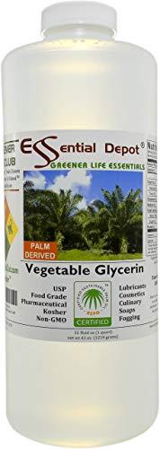 Pure Vegetable Glycerin, 1 Quart