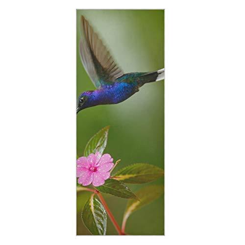 Toallas para Esterilla de Yoga Beautiful Elf Hummingbird Toalla de Yoga para Esterilla Toalla de Yoga Antideslizante súper Suave Antideslizante Adecuado para la Playa Fitness Park Yoga y pi