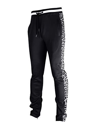 SCREENSHOTBRAND Mens Hip Hop Longline Premium Tee – Pullover Hooded Fashion T-shirt High-Low Distress Ripped – Black – Small