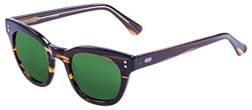 Ocean Sunglasses Ski Gafas de Sol Polarized Santa Cruz (47 mm) Marrón