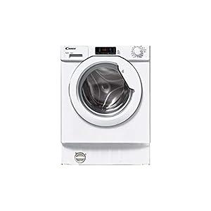 Lave linge encastrable Candy CBWM712DS - Lave linge Frontal encastrable - Intégrable - capacité : 7 Kg - Vitesse d'essorage maxi 1200 tr/min - Classe A+++