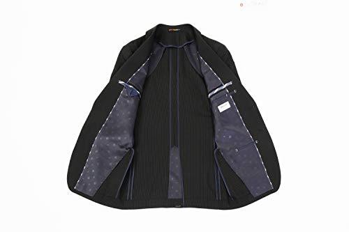 [オリヒカ] 【スーツ】 洗える/ストレッチ/防しわ機能的 FITスリムノータック ストライプ 春夏 メンズ