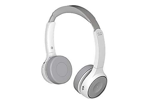 CISCO - Cámara IP Telefony 730 inalámbrica Dual on-Ear + soporte USB-a Bundle Platinum