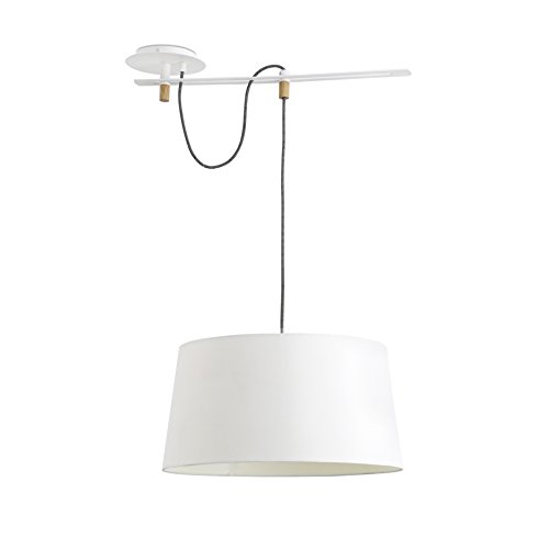 Faro Barcelona 28394 FUSTA Lampe suspension blanche