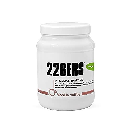 226ERS K-Weeks Immune   Proteine Whey per Rinforzare il Sistema Immunitario con Pappa Reale e Vitamina B6, Caffè alla Vaniglia - 500 gr