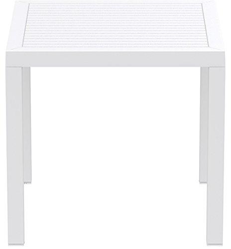 Resol Arctic – Table, Plastique 80 x 80 x 75 cm Blanc