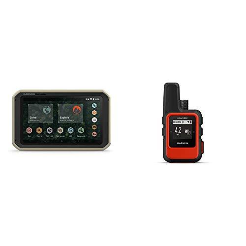 Garmin Overlander, Rugged Multipurpose Navigator for Off-Grid Guidance & InReach Mini, Lightweight and Compact Satellite Communicator, Orange