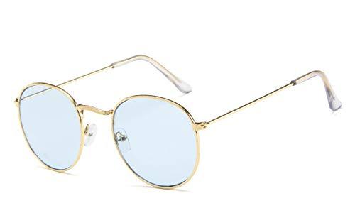 Gafas De Sol Gafas De Sol Clásicas Ovaladas De Diseñador para Mujer/Hombre, Anteojos Vintage, Espejo De Compras En La Calle C8