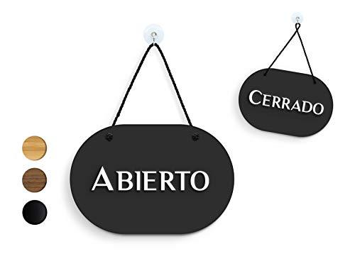 3DP Signs | óvalo Estilo - Abierto/Cerrado - Cartel