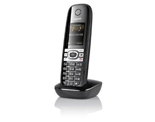 Gigaset C610H Telefon - Schnurlostelefon / Universal Mobilteil - TFT-Farbdisplay - Dect-Telefon - Freisprechen - Analog Telefon - schwarz