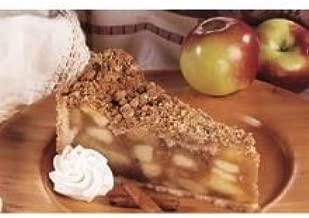 Love and Quiches Decadent Crumby Apple Pie - Dessert, 10 inch -- 2 per case.