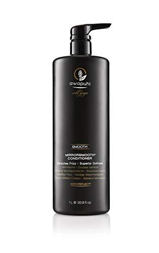Paul Mitchell Awapuhi Wild Ginger MirrorSmooth Conditioner - Feuchtigkeits-Conditioner für trockenes, widerspenstiges Haar, Haarpflege für mehr Glanz, 1000 ml