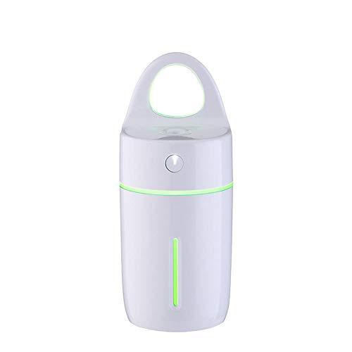 HDFIER umidificatore warm Diffusore di Oli Essenziali Ultra Silenzioso, Spento Automatico per Spa/Massaggi Usb colorato ha condotto la luce notturna