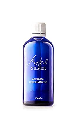 Colloidal Silver spray. 100ml Colloidal Silver 10ppm. Natural antibacterial spray, antiseptic and antifungal spray. Pure Colloidal Silver manufactured by Active Silver. UK Colloidal Silver. by Silver Health Limited
