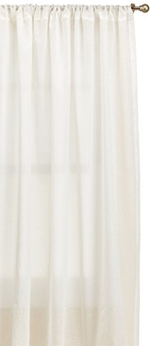 Thermasheer Weathershield Insulated Sheer Panel, 84 by 50-Inch, White