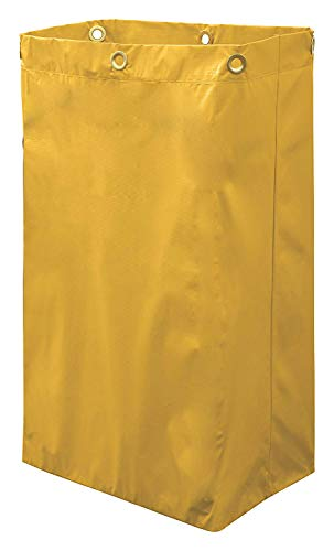 Janitorial cart Replacement Bag Yellow