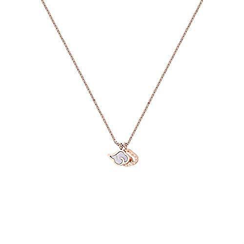 Aluyouqi Co.,ltd Collar Temperamento Femenino Collar de clavícula de Marea Colgante Collar Joyas