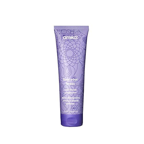 Amika bust your brass cool blonde conditioner 250ml