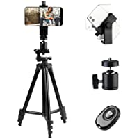 Aiker Portable 40 Inch Selfie Stick Tripod with Phone Holder