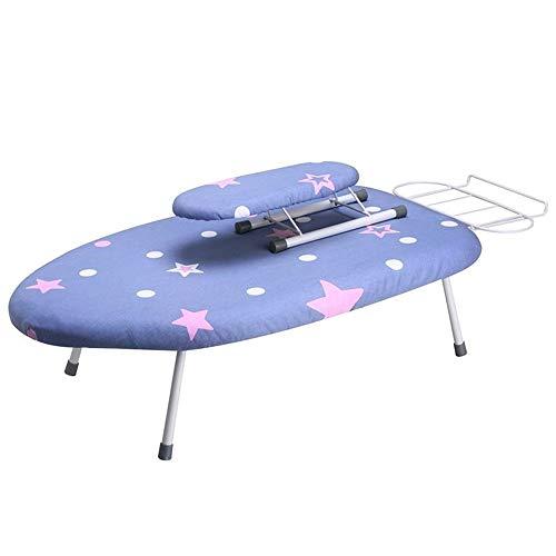 Tabla de planchar, pequeña mini tabla de planchar eléctrica, ropa, gancho plegable,...