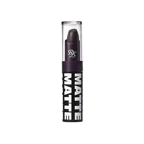 Ruby Kisses Matte Lipstick, 0.12 Ounce (BLACKBERRY)