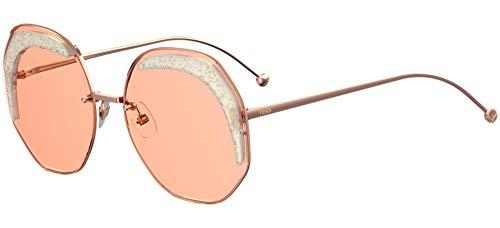Fendi Sonnenbrillen GLASS FF 0358/S Rose Gold/Pink 63/19/140 Damen