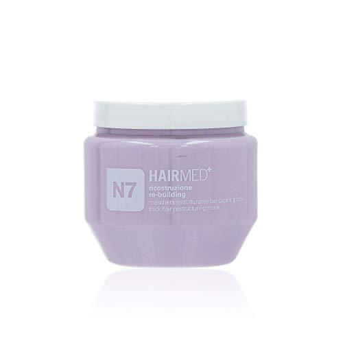 HAIRMED - N7 Maschera Ristrutturante Capelli alla Cheratina - Impacco Capelli Danneggiati - 250 ml