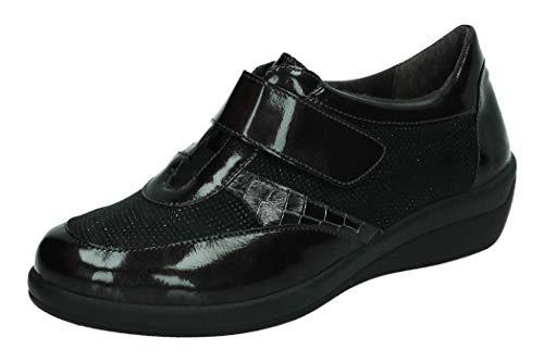 DOCTOR CUTILLAS 43510 MOCASINN Klettverschluss-Schuhe, - anthrazit - Größe: 35 EU