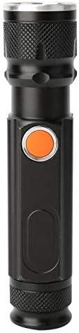Draagbaar USBopladen T6 LEDzaklamp voor buiten Hoge helderheid Lichtgewicht Oplaadbaar Waterdicht voor op reis kamperen controleren repareren buitenshuis thuis