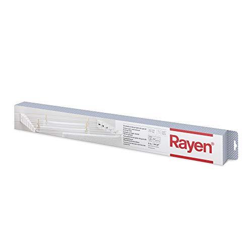 Rayen | Tendedero telescópico de Pared | Tanto para Interior como para Exterior | 5 Metro de Superficie d etendido | Plegable para Ahorrar Espacio | Dimensiones 80 x 37 cm |