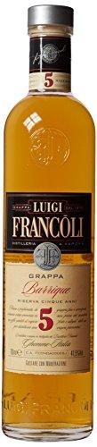 Francoli Luigi Grappa Riserva 5 Edition 41.5 Vol% (1 x 0.7)