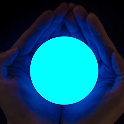 LOFTEK LED Floating Pool Light with Timer, 3-inch 7 RGB Colors Changing Ball, IP67 Waterproof Bathtub Orb Light, Replaceable Coin Cell Operated Toy for Kids, Nursery or Decor